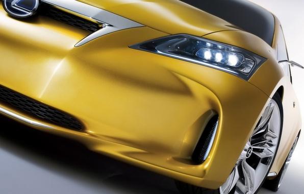 Picture wheel, Lexus, LF-Ch, yellow