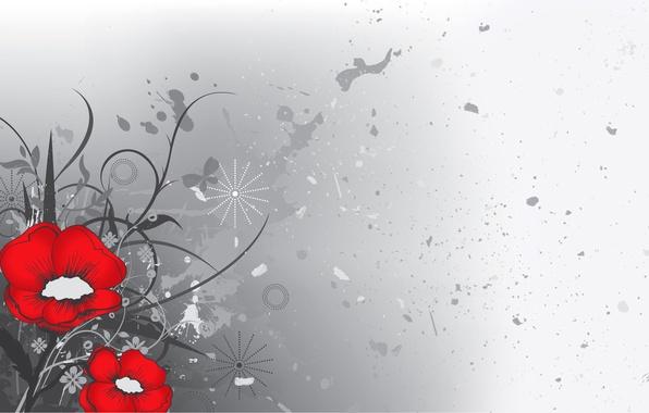 Picture figure, Maki, vector, petals