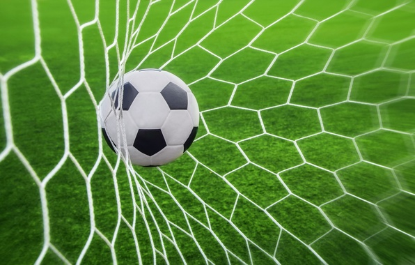 Picture soccer, goal, ball