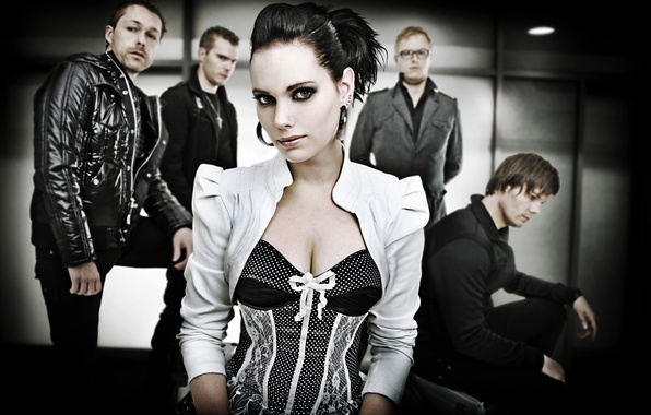 Picture metal, metal, gothic, sympho, Gothic, Manda Ophuis, Lasse Dellbrugge, nemesea, Frank van der Star, Sonny …