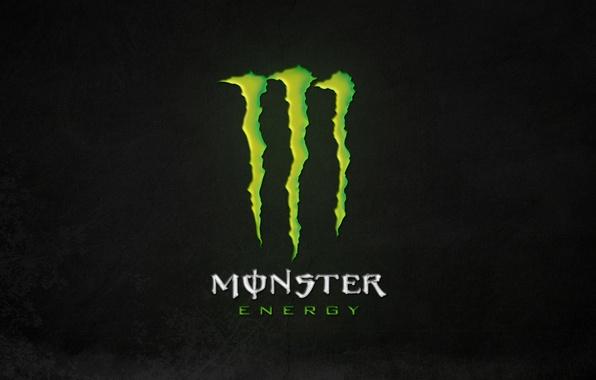 Picture green, logo, monster, background, energy, monster energy