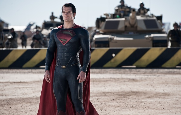 Picture fiction, army, costume, Superman, tanks, comic, Superman, Clark Kent, Man of steel, Man of Steel, …