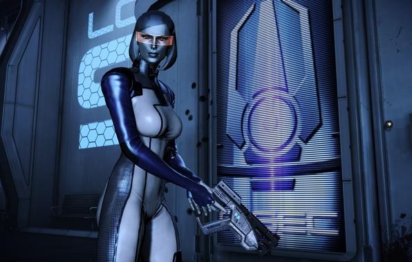 Picture robot, Mass Effect, EDI, Susie