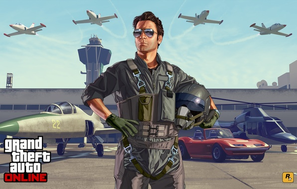 Picture machine, aircraft, Grand Theft Auto V, Flight school