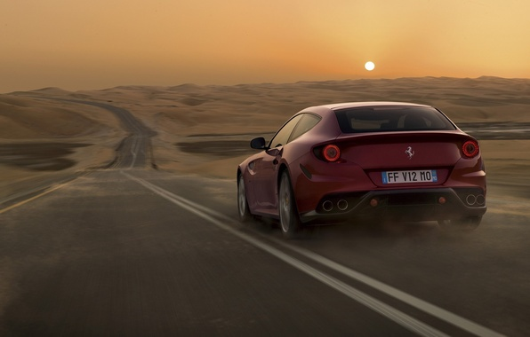 Picture Ferrari, 2011, V12, GT sports car concept