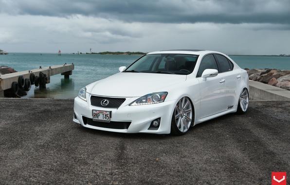 Picture Lexus, White, 350, Vossen