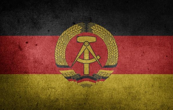 Photo Wallpaper Germany Flag GDR The German Democratic Republic