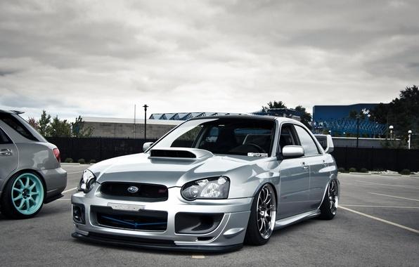 Picture subaru, wrx, tuning, Subaru, sti, stance