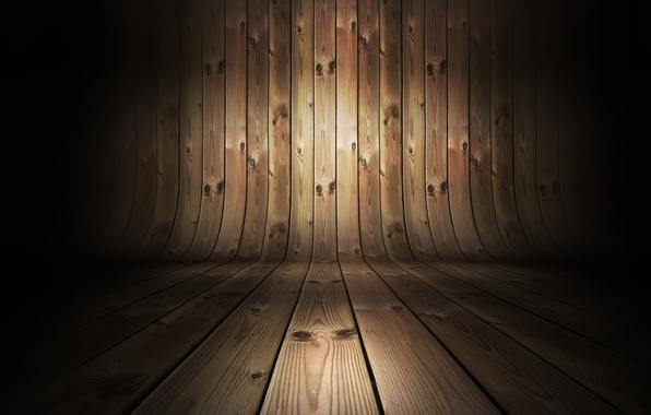 Picture wall, woods, floor, effect, tables, curved pattern