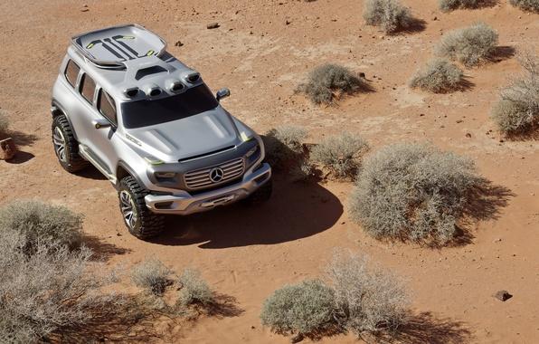 Picture Sand, Desert, The concept, Mercedes Benz, SUV, Force, Mercedes, Ener-g