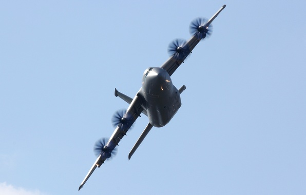 Picture the sky, the plane, military transport, Antonov, The an-70