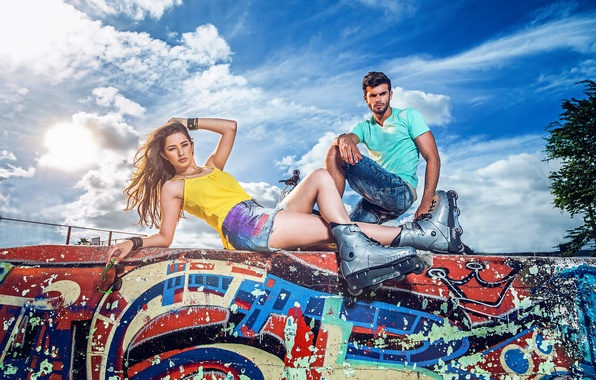Picture style, graffiti, videos, Thais Silva, Bruno Piechocki