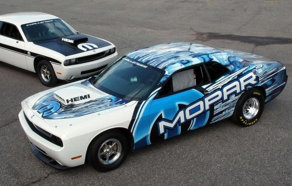 Picture Challenger, Dodge, drift