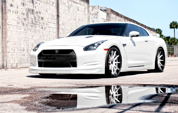 Picture cars, nissan, white, cars, Nissan, gtr, auto wallpapers, car Wallpaper, auto photo