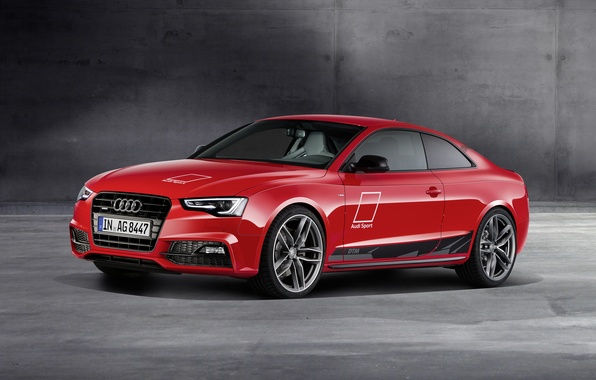 Picture Audi, Audi, coupe, red, Coupe