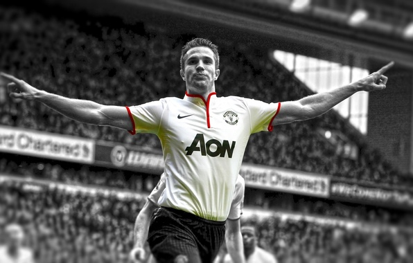 Photo wallpaper Football, Football, Robin van Persie, Sport
