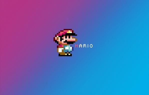 Picture Mario, mario, pixel hero, Pixelate