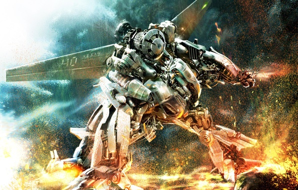 Picture transformers, war, robot