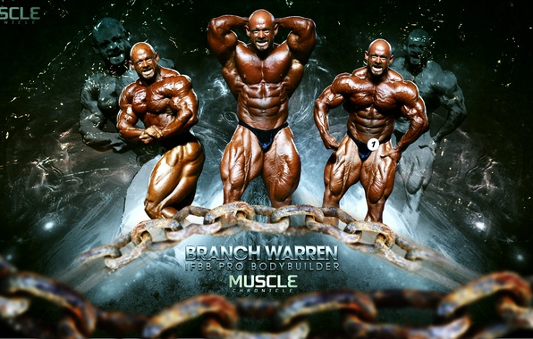 Picture muscle, BODYBUILDING, IFBB, BRANCH WARREN, PRO, BODYBUILDER