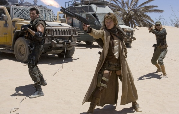 Picture photo, the film, frame, Milla Jovovich, resident evil