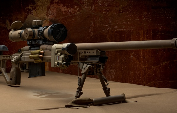 Photo wallpaper weapons, optics, sniper rifle, fry