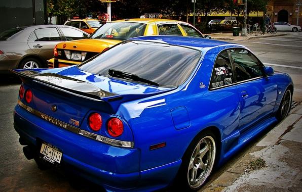 Picture GTR, Nissan, Skyline, JDM, R33