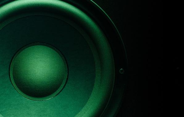 Picture color, sound, column, speaker