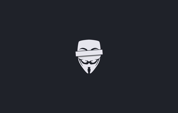Picture minimalism, mask, censored, anonymous, anonymous