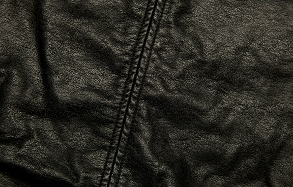 Picture texture, leather, seam, black, folds