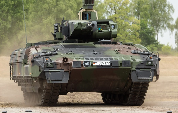 Picture machine, combat, Puma, German, infantry, armored, Protect tank