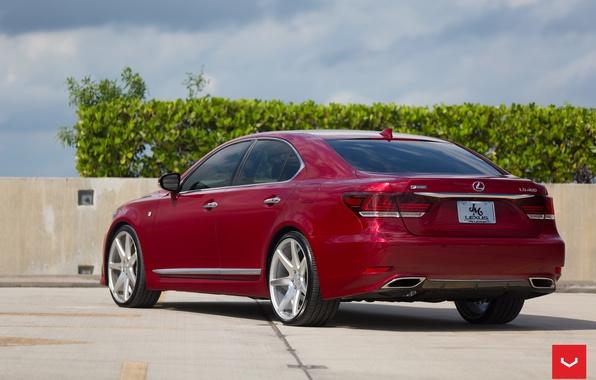 Picture machine, auto, Lexus, wheels, drives, auto, LS460, feed, Vossen Wheels