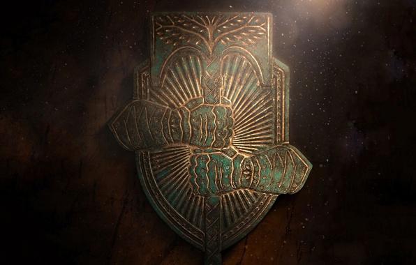 Destiny Rise Of Iron Wallpaper Download Free Stunning: Wallpaper Light, Gun, Game, Warhammer, Armor, Tree, Shield