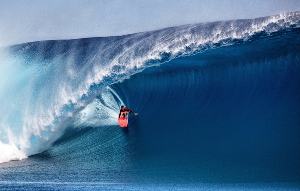 Picture sport, wave, surfer, Serfing, serving