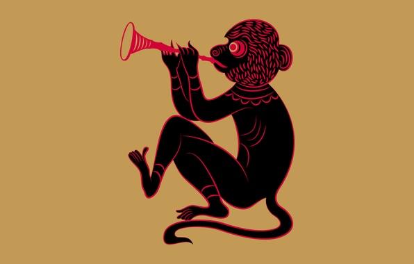 Picture monkey, zodiac, Zune