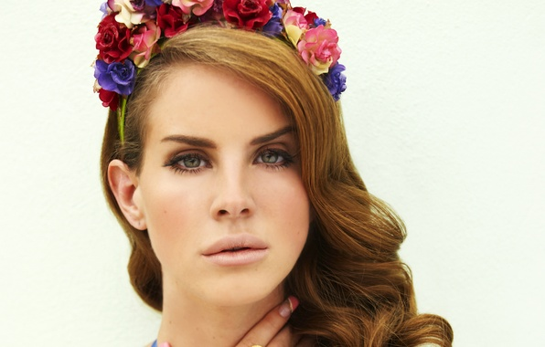 Picture look, girl, singer, celebrity, lana del rey