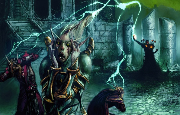 Picture World of Warcraft, Blizzard, Trading Card Game, Warlock, Insanity
