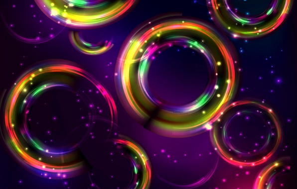 Picture circles, abstraction, background, colors, colorful, abstract, background