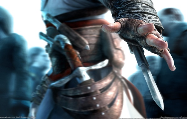 Picture Assassin's Creed, Altair, assassin, hidden blade, Ubisoft Montreal, Ubisoft Entertainment