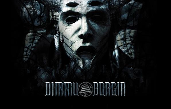 Picture BACKGROUND, BLACK, FACE, DIMMU BORGIR
