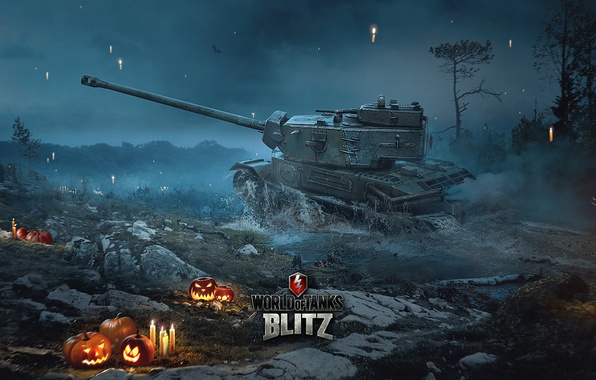 Picture Halloween, World of Tanks, World Of Tanks, Wargaming Net, WoTB, Flash, WoT: Blitz, World of …