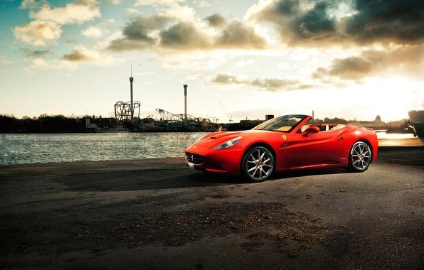 Picture river, pierce, Ferrari, CA, ferrari california