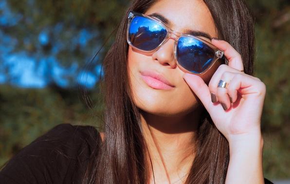 Picture sexy, model, sunglasses
