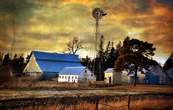 Picture style, home, windmill