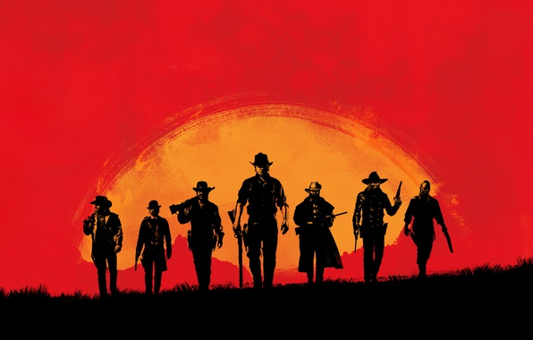 Picture Game, Rockstar Games, Red Dead Redemption 2, Gang
