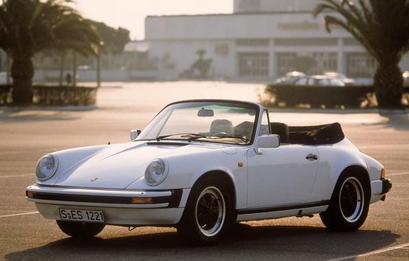 Picture 911, Porsche, convertible, Porsche, 1983