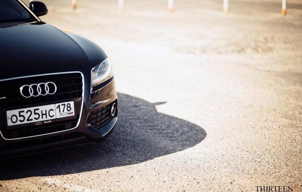 Picture machine, auto, Audi, Audi, headlight, photographer, auto, photography, photographer, label, Thirteen, Mark Litovkin, A5 Coupe