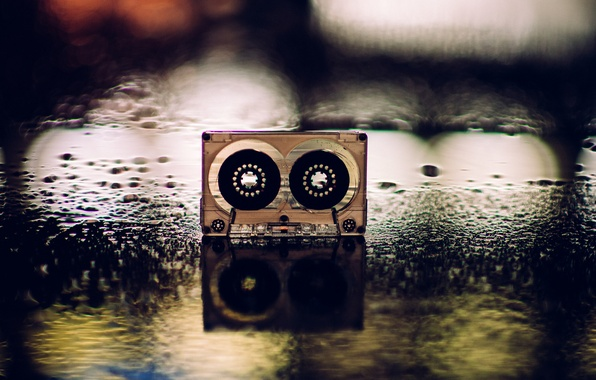Wallpaper Cassette Music Background