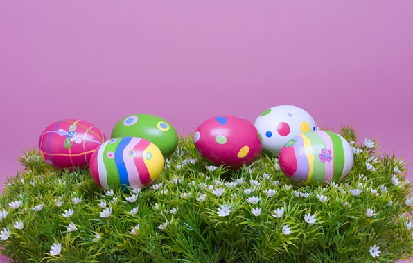 Picture Grass, Easter, Eggs, The Resurrection Of Christ, Pascha, Chickens, Easter Eggs