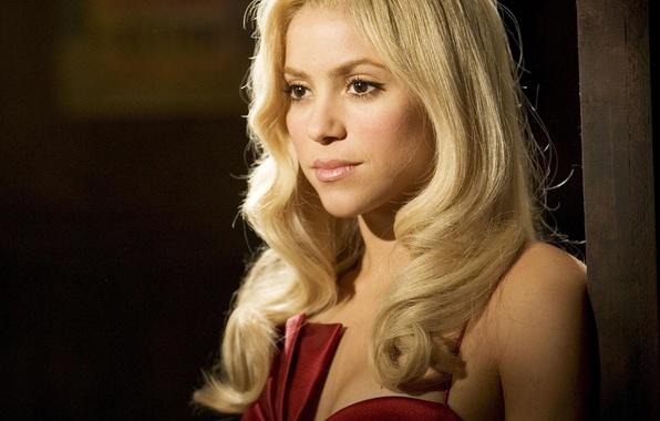 Picture look, blonde, singer, Shakira, celebrity, shakira