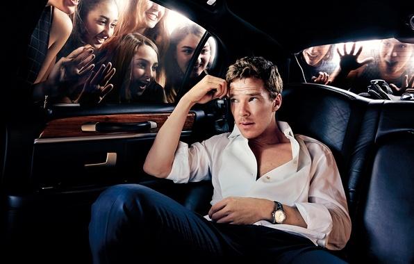 Picture photoshoot, New York, Benedict Cumberbatch, October 2014